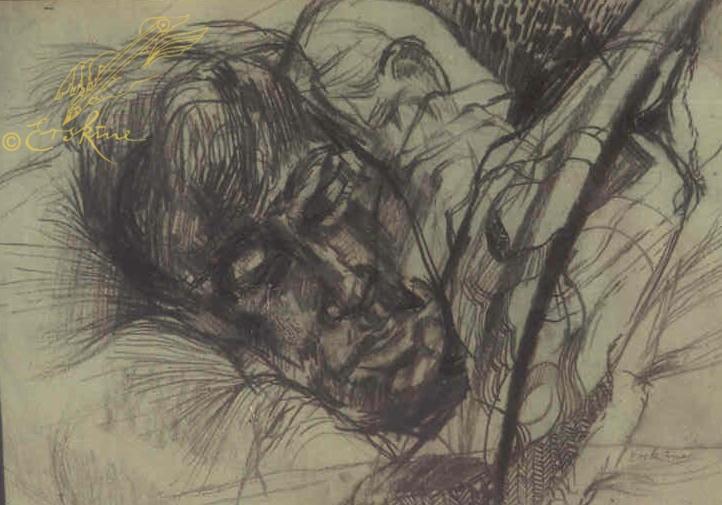 Tony sleeping 1980