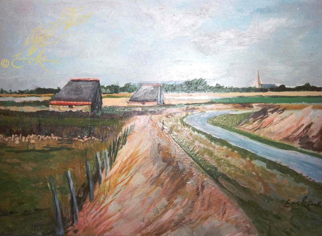 Towards Den Burg, Texel