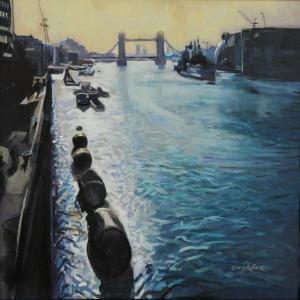The Thames - Summer morning small